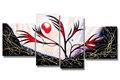 atacado handmade lona pintado de paisagens para decoração