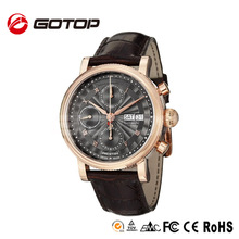 3atm Water Resistant Stainless Steel Watch Case Rose Gold Royal Crown Watch
