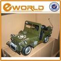 verde amored carro deimitação antigo modelo de carro de brinquedo vintage de diecast veículos militares