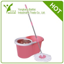 BAILILAI super 2015 best magic spin mop as seen on tv with wheels 4 drives cleaning product mop