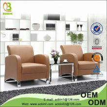 2014 latest design Leather Office euro sofa
