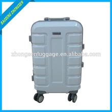 Latest design aluminum luggage case Explosion models aluminum trolley case with aluminum case with wheels
