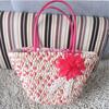 2014 the most popular handbag straw tote beach bag , fashion holiday vocation outdoor straw ladise handbag