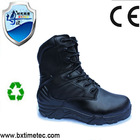 Cheap High Ankle Genuine Leather Safe Shoes with Steel Toe and air-mesh fabric