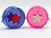 Fashion PVC plastic coin purse with nice design