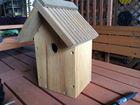 FSCHandmade Eco-friendly Pine wood bird houses for wholesale