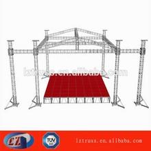 event aluminum truss stage roof truss