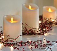 home and garden decoration luminara flameless candle wholesale ,led garden light