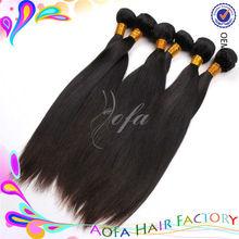 6A grade shedding free 24 inch 100 human hair for braiding