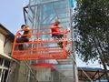 Buidling/vidro/berço limpeza de janela