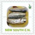 peixes enlatados de sardinha em óleo por fabrico chinês