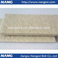 NANG Velvet white roller cover,roller cover for water or air jet loom