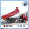 sinotruk howo 6x4 336hp 10wheel dump truck left hand drive for sale