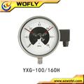 À prova de explosão de indução medidor de pressão elétrica contato
