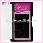 Black star hair extensions.best type synthetic hair.eyelash extension