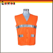 Hot sale road cleaner reflective tape red safety vest