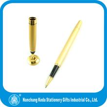 2014 Golden Engraved Designs Delicate Beautiful metal roller desk pen