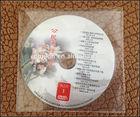 Sobre pvc funda con solapa para CD DVD cover/Non Woven DVD Sleeve