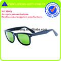 تعزيز النظارات الشمسية السوداء الجملة