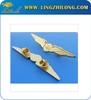 Custom metal wing pin badges,pilot wings