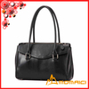new style genuine leather european shoulder bag for women with zipper decoration