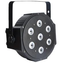 high powerful 7pcs full color LED PAR Light,7x10w led par rgbw,led mini par can