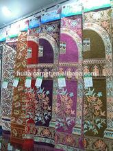 muslim prayer rugs BT-814 high quality chenille prayer rugs