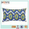 2014 hot promotion colorized polyester and cotton decorative headrest bedroom cushion