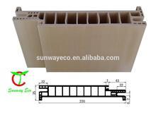 Interior WPC wood plastic composite Door Frame&Door Profile (TCF-220A)
