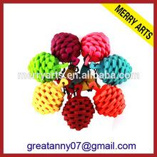 plastic newest promotional Christmas hanging ball Christmas luxury tree decoration
