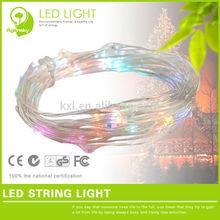 Led Fairy String Light Slow Flash Color Change 3w Water Drop shape string