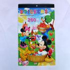 High Quality Customized Cartoon Sticker Book