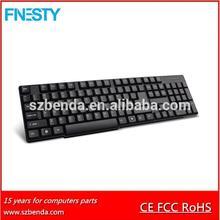 2.4g multimedia usb wireless keyboard,keyboard wireless adapter,wireless rubber keyboard