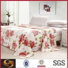 rose print fleece fabric corals red coral fleece blanket fabric