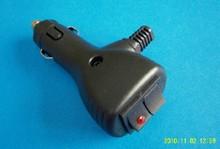 car cigarette lighter plug with switch 12v