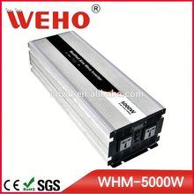 2014 high efficiency input voltage 24v dc/ac power inverter 5000w 24v 230v 5kw