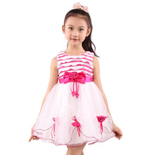Garment Factory custom Kids Full Print new arrival princess dress kids garment