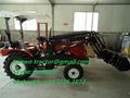 La venta caliente!!! Mini tractor 20hp-30hp, con 4 en 1 tipo cubo cargador frontal