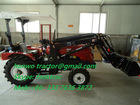 Hot sale!!! mini tractor 20hp-30hp ,with 4 in 1bucket type Front end loader