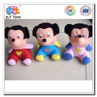 20 cm plush Mickey Type and Plush Material plush stuffed toy for toy crane machines