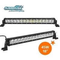 """Cheap led light bars in china 17"""" 45w cree led driving light super slim led lightbar for truck"""