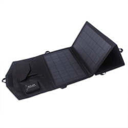 2 usb solar charger bag for tablets, mobile phone