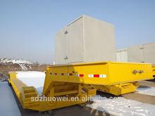 2014 venda direta da fábrica para 100 T baixo cama caminhão com destacável hidráulico maquinários