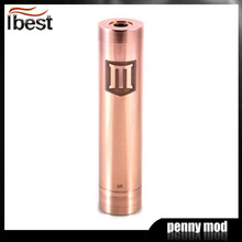 IBEST 2014 new product japan massage sex toys 18650 battery Full copper Penny Mod