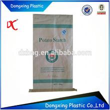 Paper plastic bag insert/Paper plastics compound sacks/paper bag PP woven inner bag