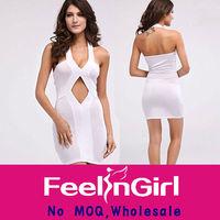 White sleeveless business industrial fashion new dress summer 2014