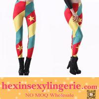 Custom print cameroon flag legging sex spandex