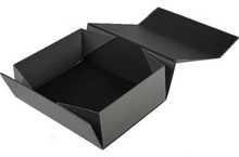 [ factory price advantage ] foldable paper box box folding to magnet closure