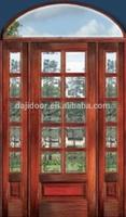 10 Lite Double Glazed Entry Doors With Transom DJ-S9136STHA