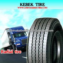 KEBEK high quality radial truck tire 13R22.5
